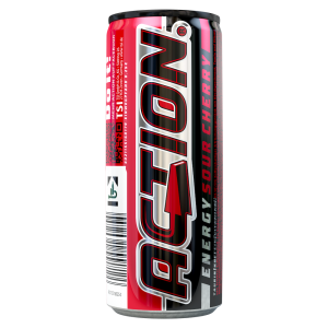 Action Energy Drink Sour Cherry Dose