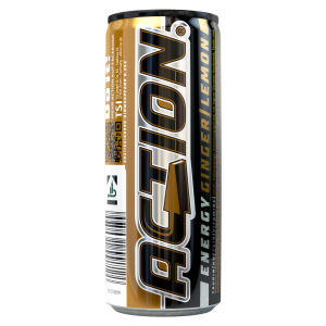 Action Energy Drink Ginger Lemon Dose