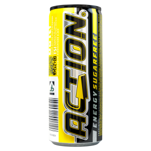 Action Energy Drink zuckerfrei Dose