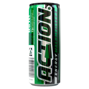 Action Energy Drink Waldmeister Dose