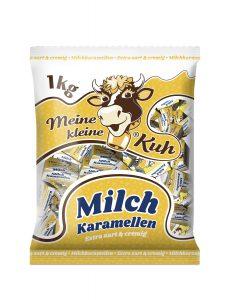 Meine kleine Kuh Milch Karamellen extra zart und cremig Karamellbonbons im der 1 Kilo Packung