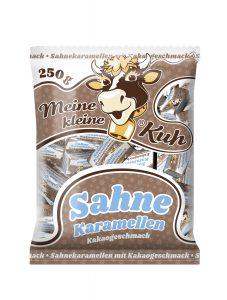 Meine kleine Kuh Sahne Karamellen, Karamellbonbons in der Sorte Kakao Geschmack