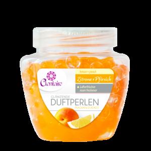 Clentaire Lufterfrischer Duftperlen Zitrone und Pfirsich