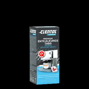 Clentol Experts Premium Entkalker Tabs für alle Espresso- und Kaffeemaschinen