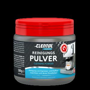 Clentol Experts Reinigungspulver für Espresso- und Kaffeemaschinenund deren Einzelteile