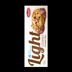 Liebich Cookies Light ohne Zuckerzusatz Chocolate Chips, Kekse mit Schokostücken Snack