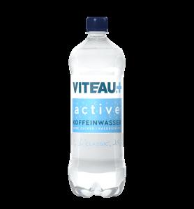 Viteau active functional Water, Wasser mit Koffein ohne Zucker kalorienfrei, Classic