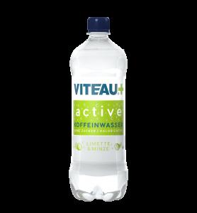 Viteau active functional Water, Wasser mit Koffein ohne Zucker kalorienfrei in LImette & Minze Geschmack