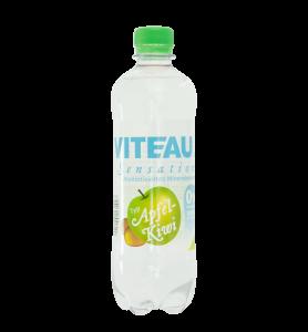Viteau sensation, aromatisiertes Wasser, Mineralwasser mit Apfel-Kiwi Geschmack