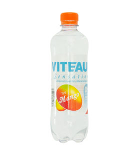 Viteau sensation, aromatisiertes Wasser, Mineralwasser mit Mango Geschmack