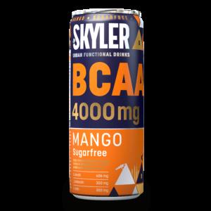Skyler Energy Drink zuckerfrei mit BCAA, Mango Geschmack