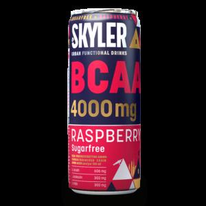 Skyler Energy Drink zuckerfrei mit BCAA, Himbeer Geschmack