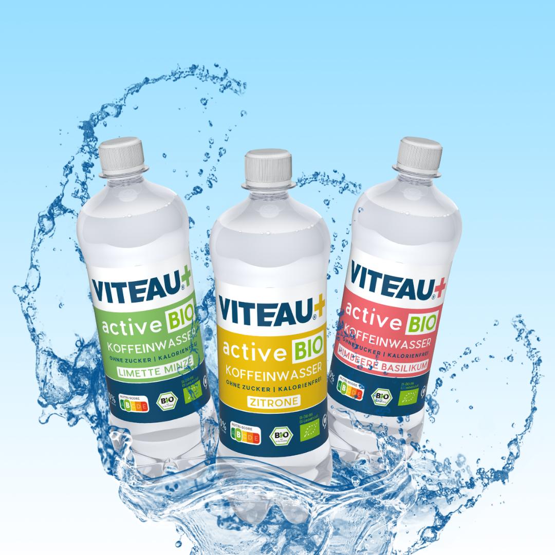 Jetzt neu: VITEAU+ ACTIVE Koffeinwasser