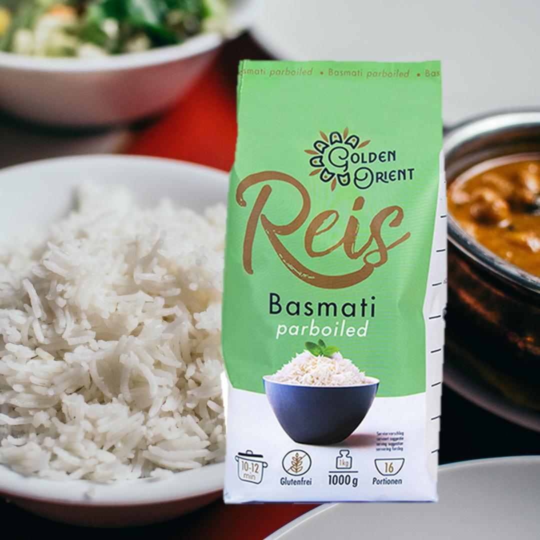 Jetzt neu: GOLDEN ORIENT Basmati Reis